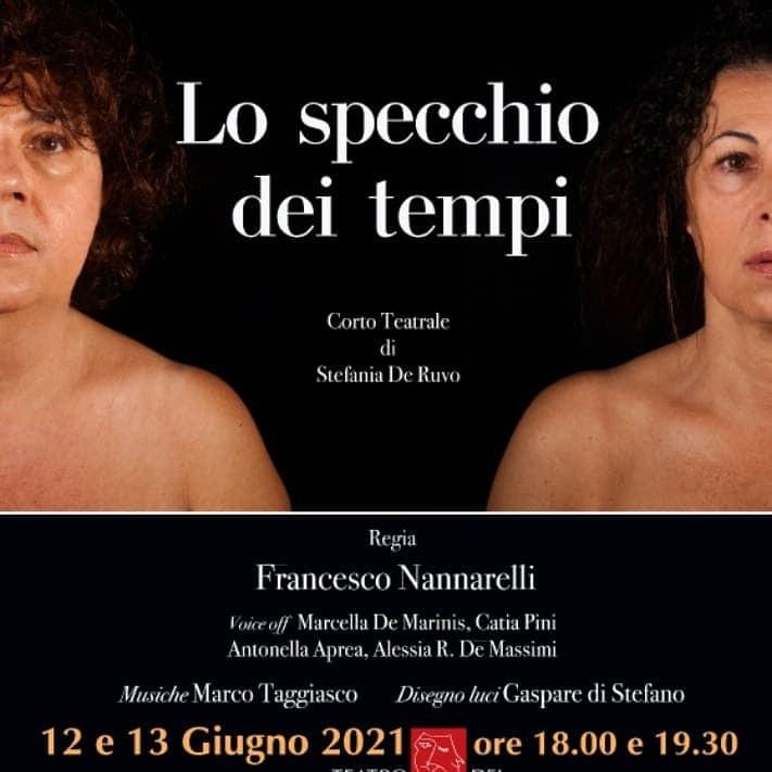 """""""LO SPECCHIO DEI TEMPI"""" Teatro dei Contrari, giugno 2021 Roma"""